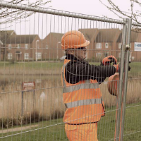 Construction site security solutions