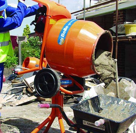 cement mixer for hire